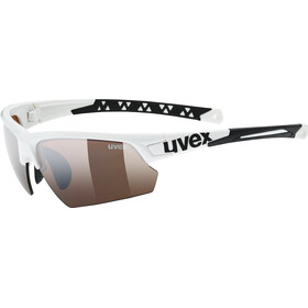 UVEX Sportstyle 224 Colorvision Bike Glasses brown/white